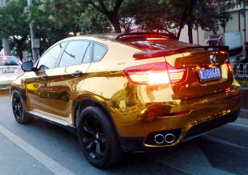 Bling Bmw X6 In Gold In China Carnewschina Com