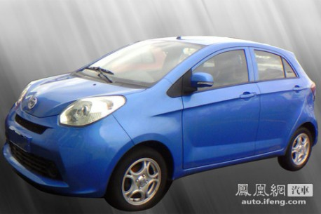 Brilliance A00 without camouflage in China