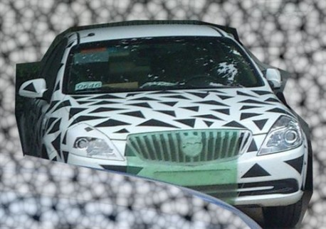 facelifted Buick Excelle testing in China