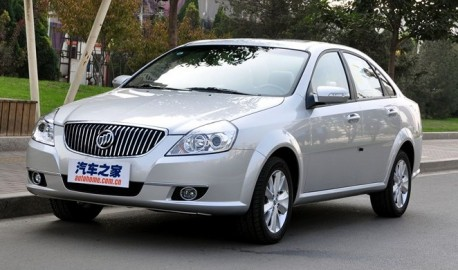 facelift for Buick Excelle in China