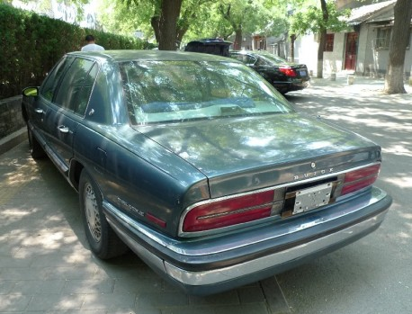 Spotted in China: Buick Park Avenue