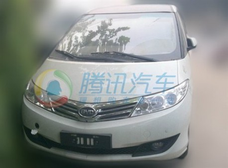 facelift for the BYD M6 in China