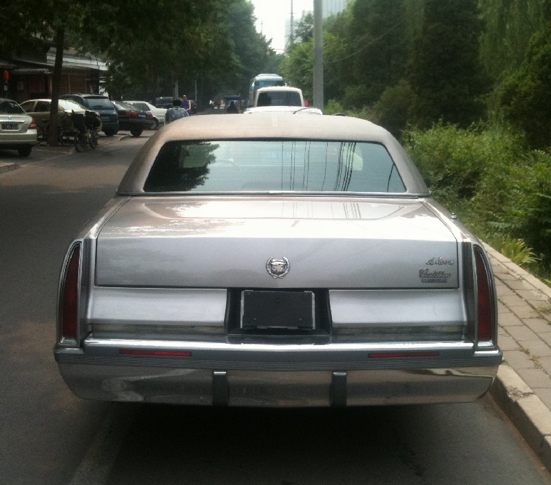 Spotted in China: Cadillac Fleetwood Brougham - CarNewsChina.com