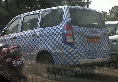 Chevrolet Enjoy (Wuling Hongguang) testing in India