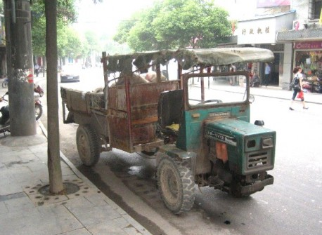 farmer vehicles in Henan Province