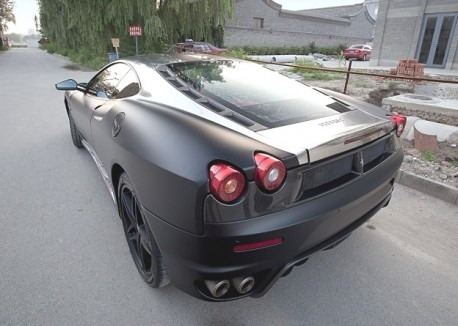 Ferrari F430 in matte-black & some silver from China