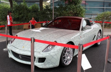 Ferrari 599 GTB China Limited Edition Porcelain Edition