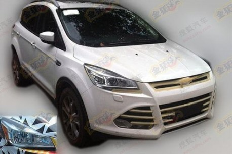 Ford Kuga Ghia testing in China