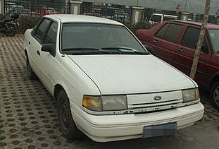 Spotted in China: Ford Tempo, and how it got there
