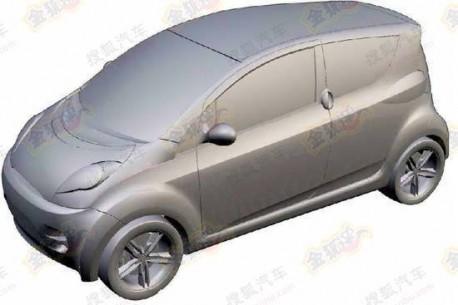 production version of the Guangzhou Auto E-linker
