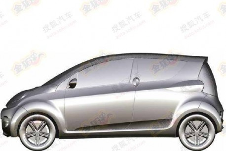 production version of the Guangzhou Auto E-linker