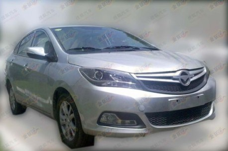 Haima V30 without camouflage in China