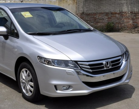 Facelifted Honda Odyssey debuts in China