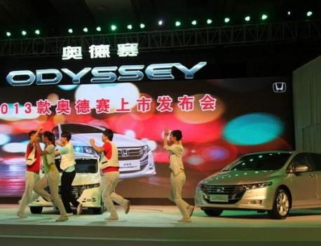 Facelifted Honda Odyssey