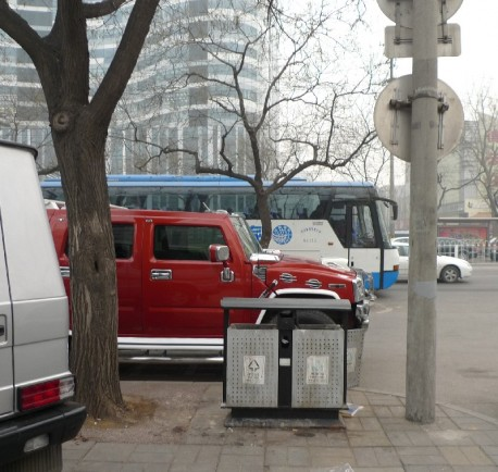 Spotted in China: a very pimped Hummer H2