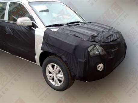facelift voor the Hyundai Tucson in China