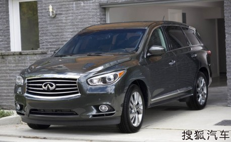 Infiniti JX will hit the Chinese car market in November