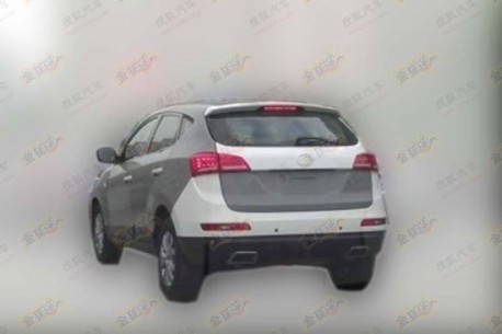 JAC SII SUV testing in China