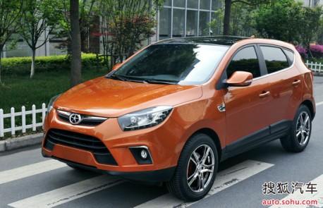JAC SII SUV testing in China