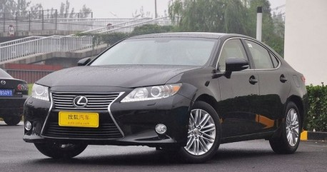 New Lexus ES launched on the China auto market