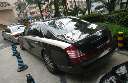 Spotted in China: Maybach 62 Zeppelin