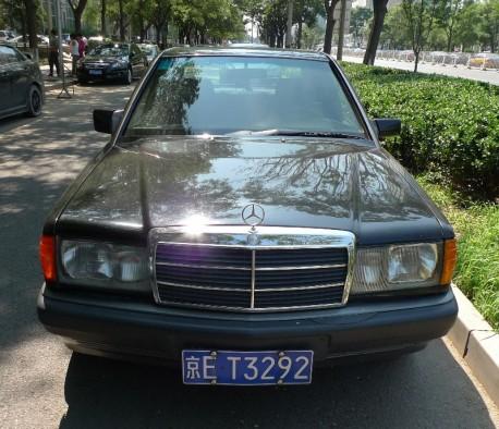 Mercedes-Benz 190E China