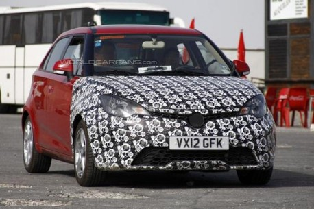 MG3 testing in UK