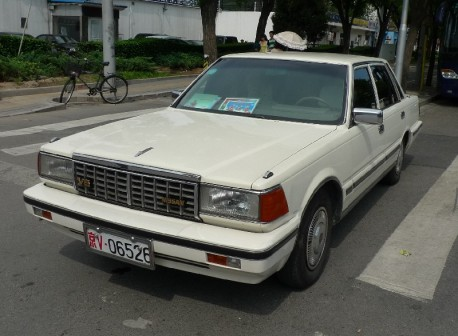 Spotted in China: Nissan Cedric V-30 SGL