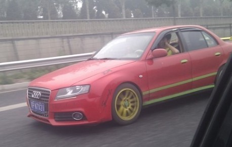 An Audi A4 is not an Audi A4 in China