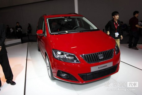 Seat Alhambra MPV comes to China