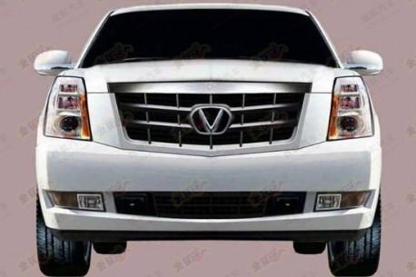 Shaanxi Victory clones the Cadillac Escalade