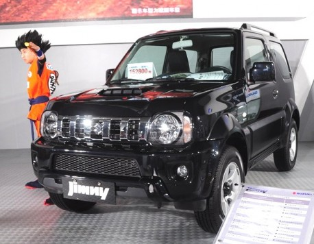 Facelifted Suzuki Jimny hits the China auto market