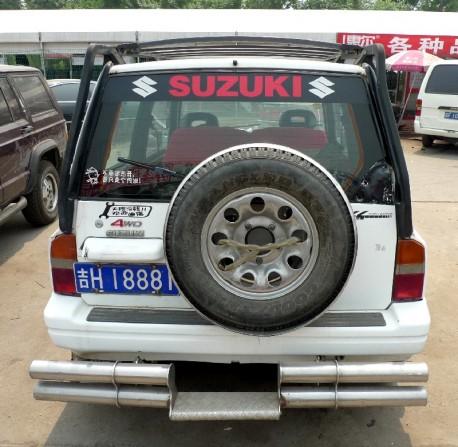 Spotted in China: a very pimped Suzuki Vitara JX