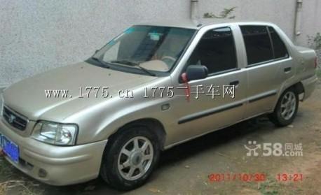 China Car History: the extended Tianjin Xiali sedan