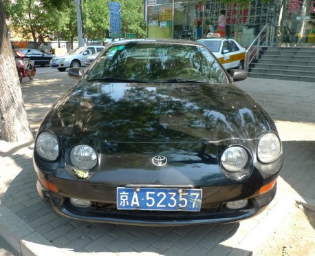 Spotted in China: sixth generation Toyota Celica