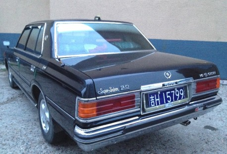 Spotted in China: sixth generation Toyota Crown