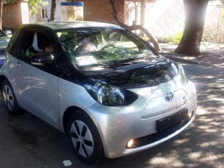 Toyota iQ EV testing in China