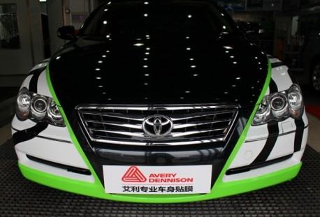 Toyota Reiz is a Zebra in China
