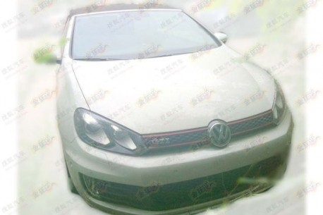 Volkswagen Golf GTI Cabriolet China