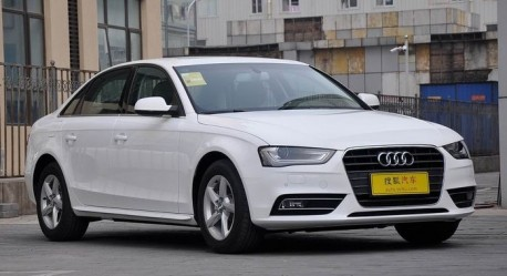 New Audi A4L hits the China auto market