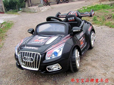 Cool electric Audi TT Cabrio for Children from China