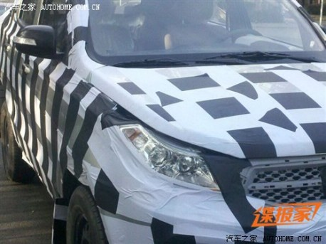 Beijing Auto SC20 testing in China