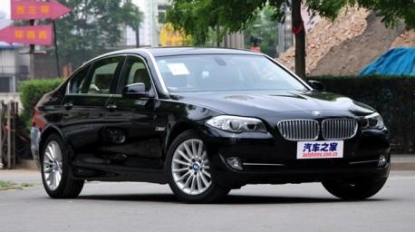 BMW 5Li 2.0 turbo will hit the China car market next month