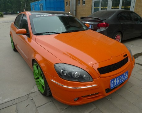 Orange Brilliance BS4 confuses me outta Wheels in China
