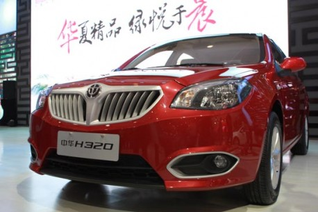 Brilliance H320 launched in China
