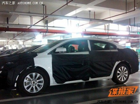 facelift for the Buick Lacrosse in China