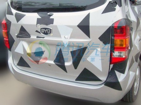 BYD goes into minivans in China