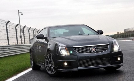 Cadillac CTS-V Coupe comes to China