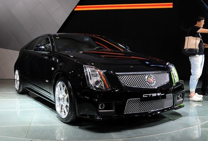 Chengdu Auto Show: Cadillac CTS-V Coupe launched in China ...
