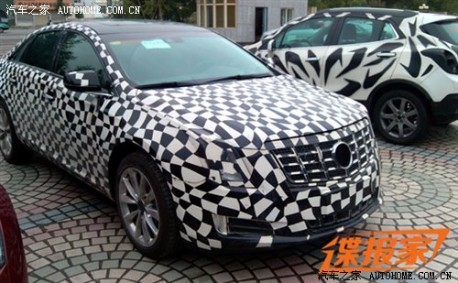 Cadillac XTS testing in China